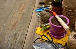 Various garden tools Stock Image