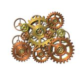 Various gears Royalty Free Stock Images