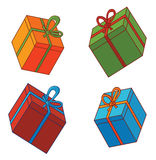 Various gift box Royalty Free Stock Photography