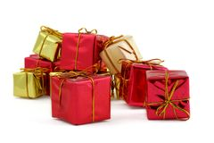 Various gifts Royalty Free Stock Images