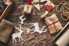 Various gifts for Christmas Stock Image