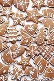 Various gingerbreads Royalty Free Stock Photos