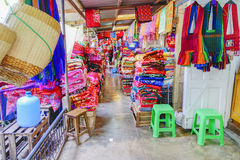 Various goods in Burmese market, Myanmar. Colourful stalls in Burmese market, Myanmar . Myanmar is one of the mysterious country in South East Asia and because royalty free stock images