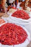 Various goods in Burmese market , Myanmar Stock Photos
