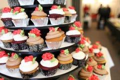 Various gourmet cupcakes Royalty Free Stock Photos