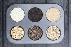 Various of grain Stock Images