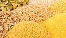 Various Grains Close Up Royalty Free Stock Image
