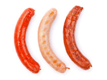 Various grilled sausages Stock Image