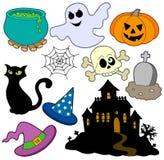 Various Halloween images 2 stock illustration