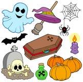 Various Halloween images 3 stock illustration