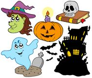 Various Halloween images 4 Royalty Free Stock Photos