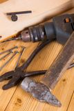 Various hand tools Stock Images