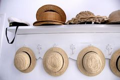 Various hats Stock Images