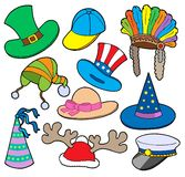 Various hats collection 2 Royalty Free Stock Photos