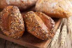 Various healthy bread Royalty Free Stock Images