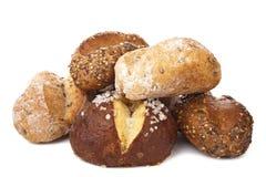 Various healthy bread isolated Stock Photos