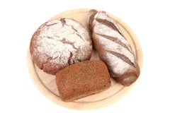Various healthy bread. Stock Images