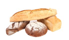 Various healthy bread. Royalty Free Stock Images