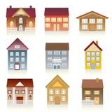 Various houses Stock Photo