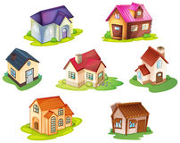 Various houses Stock Photography