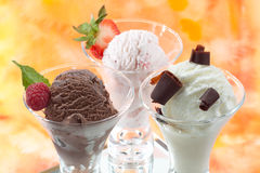 Various Ice Cream Stock Photos