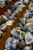 Various Icelandic rocks and minerals Royalty Free Stock Photo