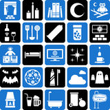 Various icons Stock Image