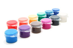 Various Ink Cans Stock Images