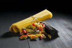 Various Italian pasta Stock Photo