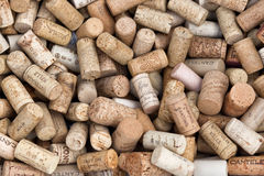 Various italian wine corks Stock Photo