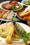 Various Japanese dishes Royalty Free Stock Image