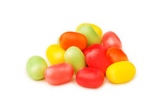 Various Jelly Beans Isolated Royalty Free Stock Images