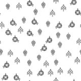 Various Jewelry Ornaments Seamless Pattern Vector vector illustration