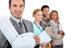 Various jobs Stock Images