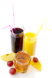 Various juices Stock Images