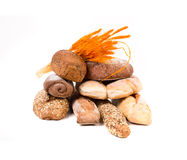 Various kind of bread. Stock Photography