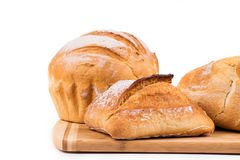 Various kinds of bread Royalty Free Stock Photo