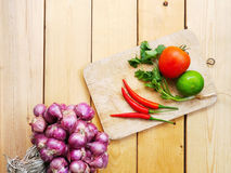 Various kinds of fresh vegetables Royalty Free Stock Photos