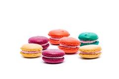 Various kinds of macarons. Assortment of various kinds of macarons Royalty Free Stock Image