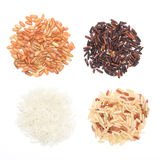 Various Kinds Of Rice Royalty Free Stock Photo