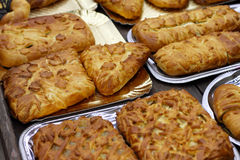Various kinds of pies Stock Image