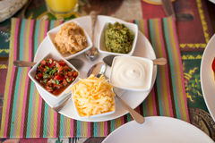 Various kinds of sauces Royalty Free Stock Image