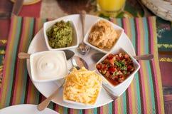 Various kinds of sauces Stock Photos