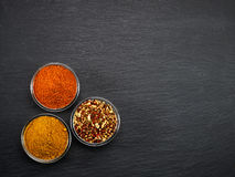 Various kinds of spices Royalty Free Stock Image