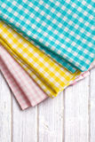 Various kitchen towels Stock Image