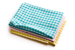 Various kitchen towels Royalty Free Stock Images