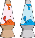 Various Lava Lamps Royalty Free Stock Image