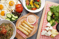 Free Various Lebanese Plates Stock Photo - 47481920