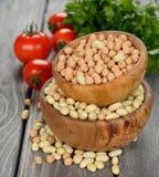 Various legumes Stock Photo