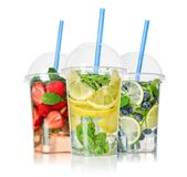Take away drinks concept. royalty free stock images